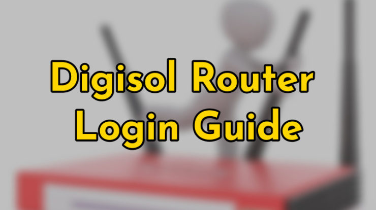 digisol router login