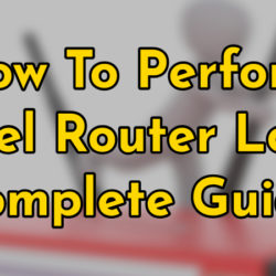 how to perfrom Zyxel router login
