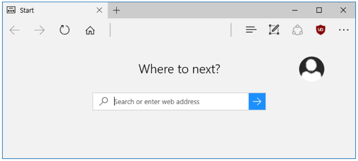 open a web browser